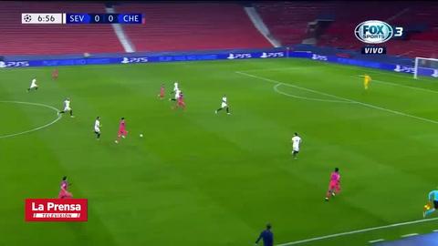 Sevilla 0 - 4 Chelsea (Uefa Champions League)