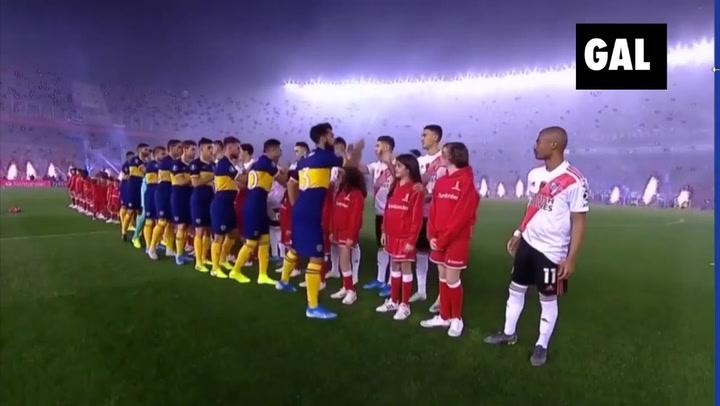 River toma ventaja a Boca (2-0) en la semifinal de la Copa Libertadores
