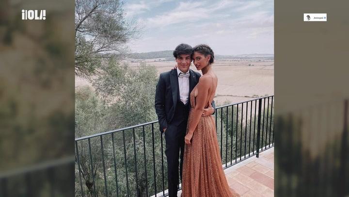 Óscar Casas y Begoña Vargas, los reyes de la pista de baile en una boda