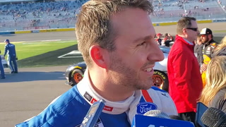 NASCAR driver Matt DiBenedetto finishes second in Las Vegas – VIDEO