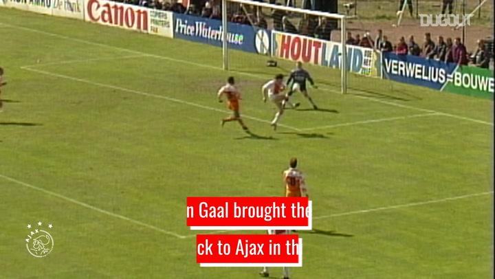 Louis van Gaal's Ajax transformation