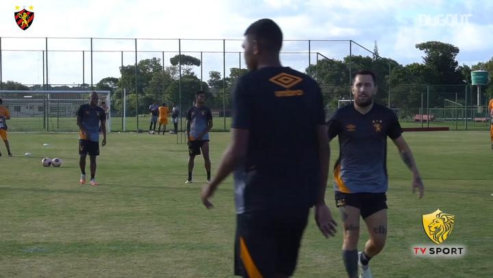 Sport Recife training session
