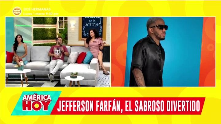 Califican a Jefferson Farfán de 'Feo y sabroso' pero Ethel Pozo y Janet Barboza lo defienden