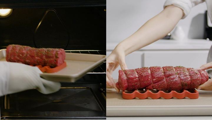 Preview image of OXO Silicone Roasting Rack video