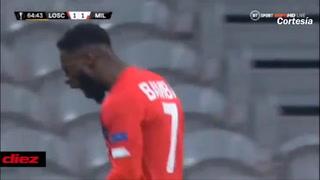 ¡Tropiezo! El Milán se descuida ante Lille y saca un estrepitoso empate que le complica la vida