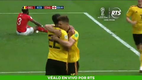 Bélgica le ganó a Inglaterra y se quedó con el tercer puesto