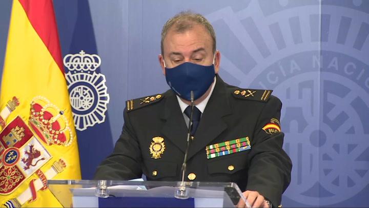 Policía explica la última operación contra el blanqueo y ciberdelincuencia