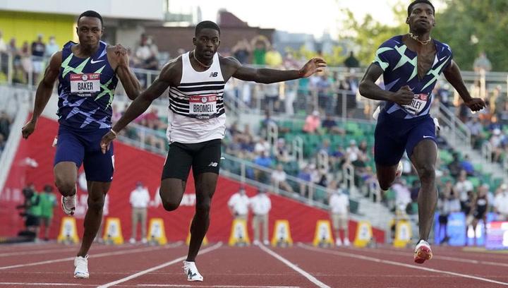 Bromell gana el billete olímpico en los 100 metros