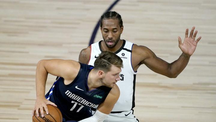 Doncic no puede con Kawhi Leonard y Paul George y cae ante los Clippers