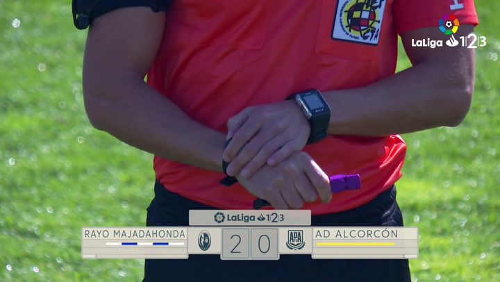 LaLiga 1|2|3: Resumen y Goles del Partido Rayo Majadahonda (2) - (0) Alcorcón del 10/03/2019