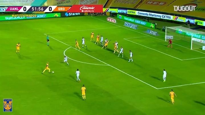 Tigres's 3-0 win vs Querétaro