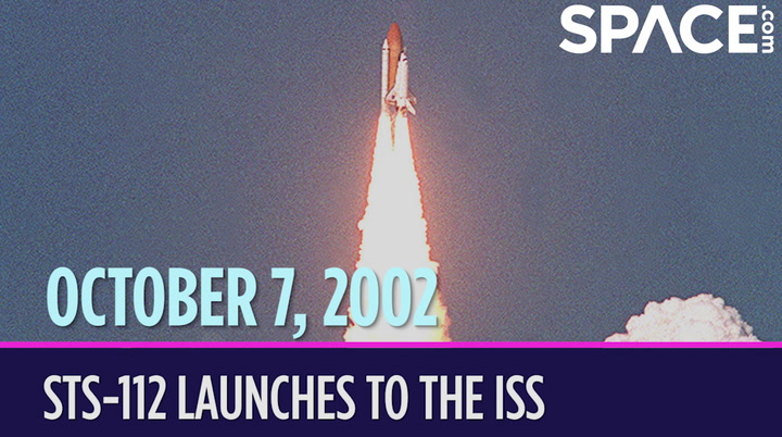 OTD in Space - Oct. 7: STS-112 Launches to the International Space Station
