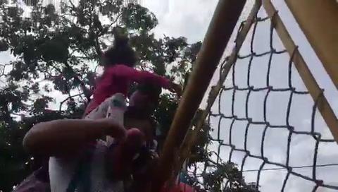 Angustia y desesperación cuando caravana migrante cruzó México