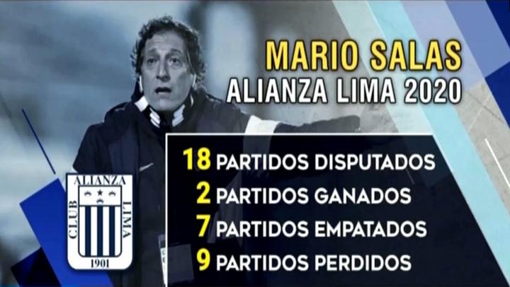 Mira los pobres números de Alianza Lima en el 2020