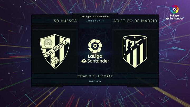 LaLiga (J4): Resumen del Huesca 0-0 Atlético de Madrid