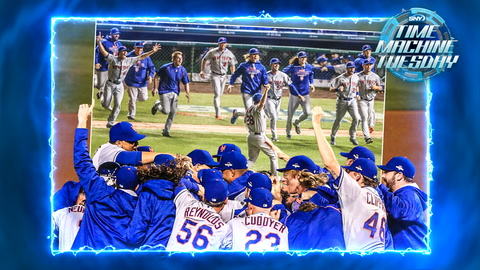 Daniel Murphy and the Mets power past the Cubs in the 2015 NLCS