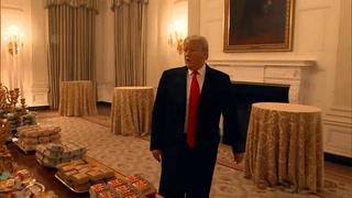 Trump encarga comida rápida para recepción en la Casa Blanca