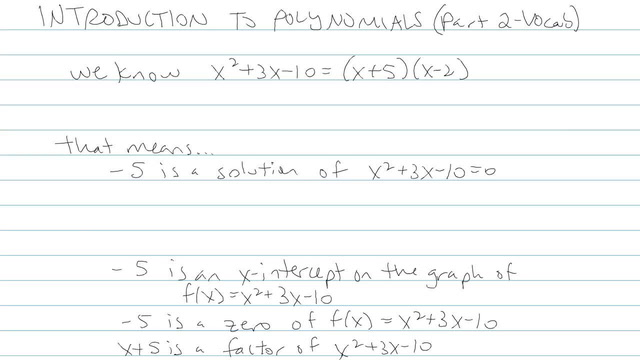 Introduction to Polynomials - Problem 6