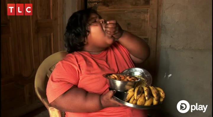 Umættelig appetit: Verdens tykkeste barn spiser som en familie på fire