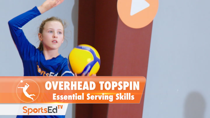 THE OVERHEAD TOPSPIN SERVE