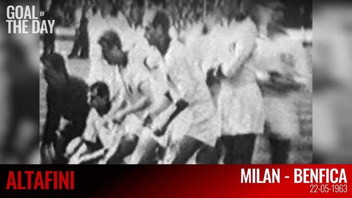 Goal of the day: Altafini vs Benfica (1963)