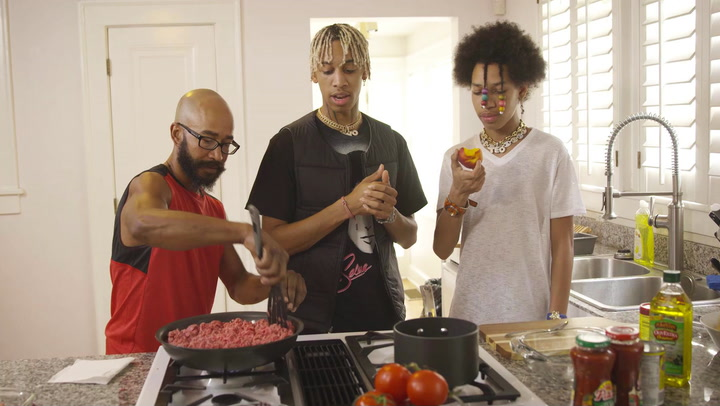 Ayo and Teo Talk Their Evolution While Cooking With Their Father