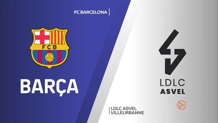 Euroliga: FC Barcelona - ASVEL Villeurbanne (69 - 76)