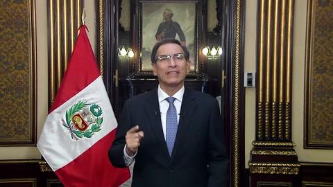 Vizcarra anuncia reforma política para Perú