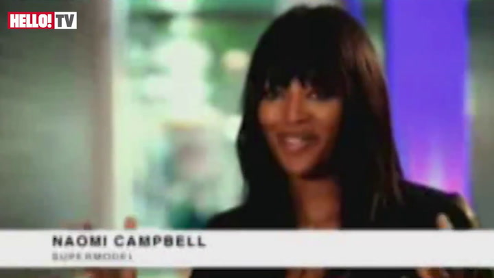 Naomi Campbell gets her hands on the World Cup