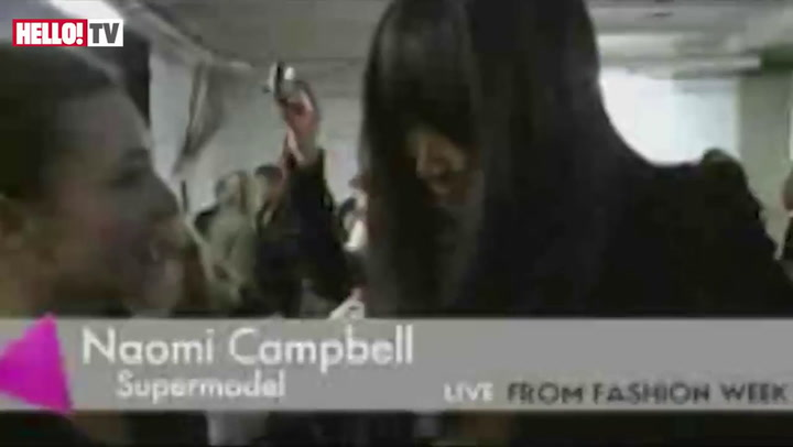 Interview: Naomi Campbell