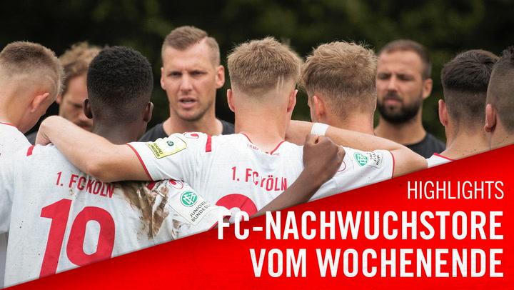 FC-Nachwuchstore vom Wochenende