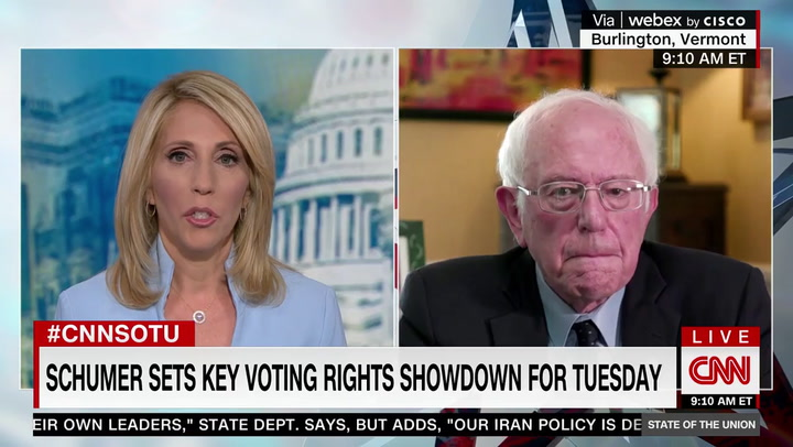 Bernie Sanders: Republicans Trying to Deny People of Color the Right to Vote