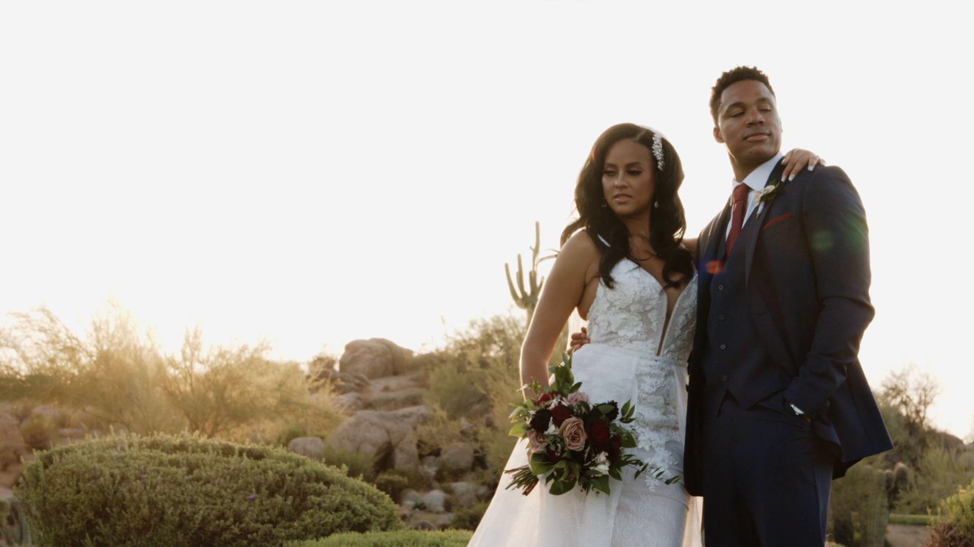 Shanae + Garrett | Scottsdale, Arizona | Troon North Golf Club
