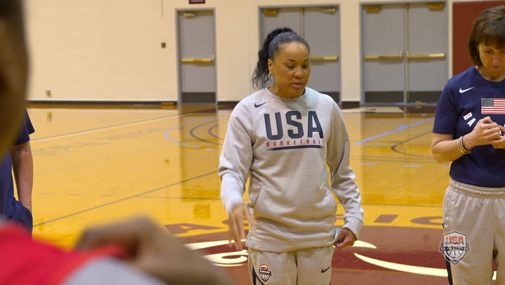 Sights & Sounds: USA Women's National Team April Training
