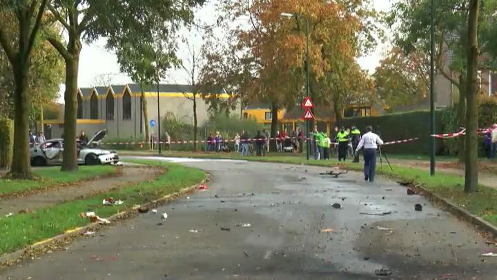 Veertig rechercheurs onderzoeken ontploffing auto