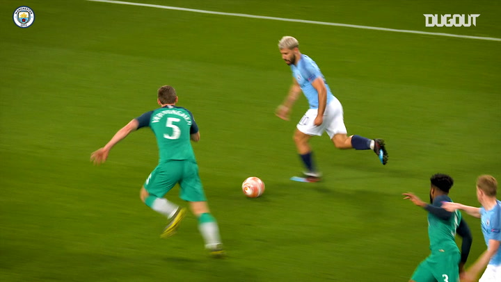 Sergio Agüero's best goals against Spurs