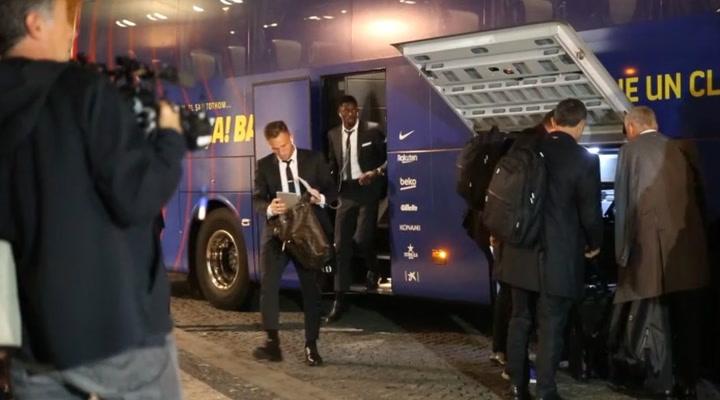 El Barça ya está en Praga