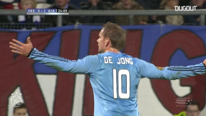 Siem De Jong's magnificent strike vs Heerenveen