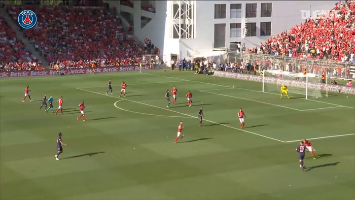 Paris Saint-Germain's four goals vs Nîmes in 2018-19