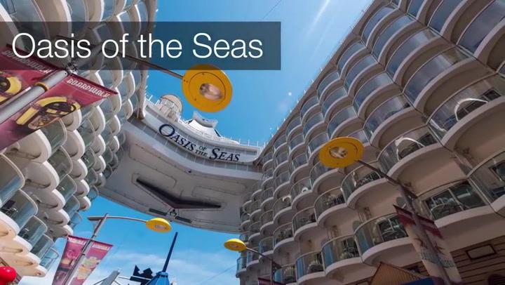 Royal Caribbean's Oasis Of The Seas Highlights