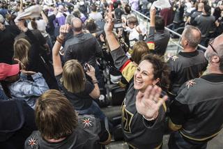 Knights' fever grips Las Vegas