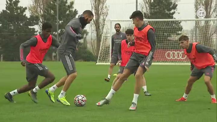 El Real Madrid prepara el partido ante el Shakhtar Donetsk sin Hazard
