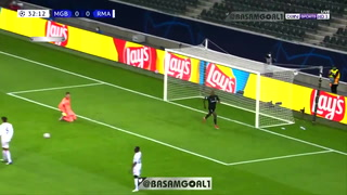 Thuram anotó el 1-0 para el Mönchengladbach ante el Real Madrid