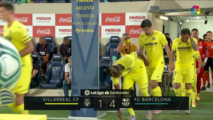 LaLiga (J34): Resumen y goles del Villarreal 1-4 Barcelona
