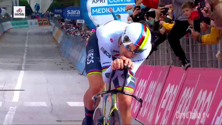 Resumen de la 14ª etapa (contrarreloj) del Giro de Italia