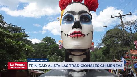 Hondureños se maravillan con chimeneas gigantes en Trinidad, Santa Bárbara
