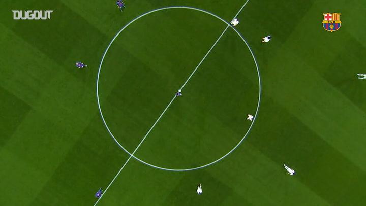 Messi scores 100th Champions League goal