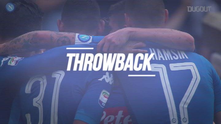 Throwback: José Callejón Goals Against Sassuolo