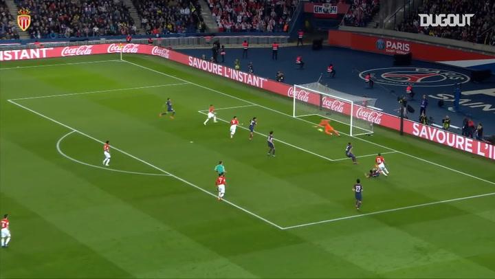 Monaco's last goals at Paris