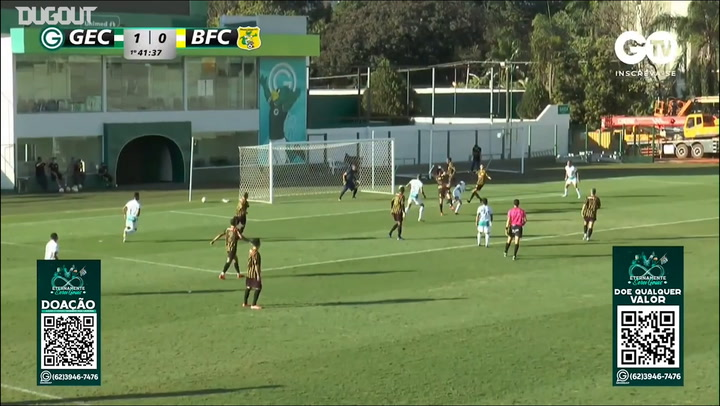 Best moments of friendly match between Goiás and Brasiliense